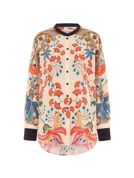 Saloni Bobbi Shirt - Floral Paisley