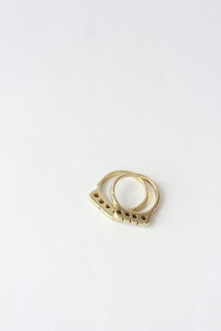 Ariana Boussard-Reifel Mauralia Rings in Brass