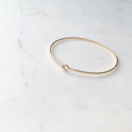 Mabel and Moss Precious Metal Bracelet - Gold Fill
