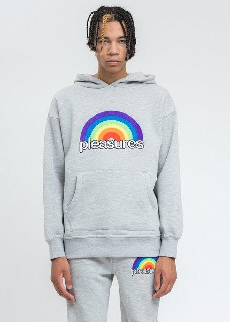 PLEASURES Good Time Hoodie sweater - Grey