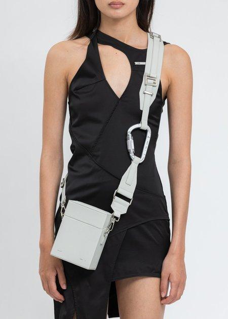 Heliot Emil Leather Strap Box Bag - Grey