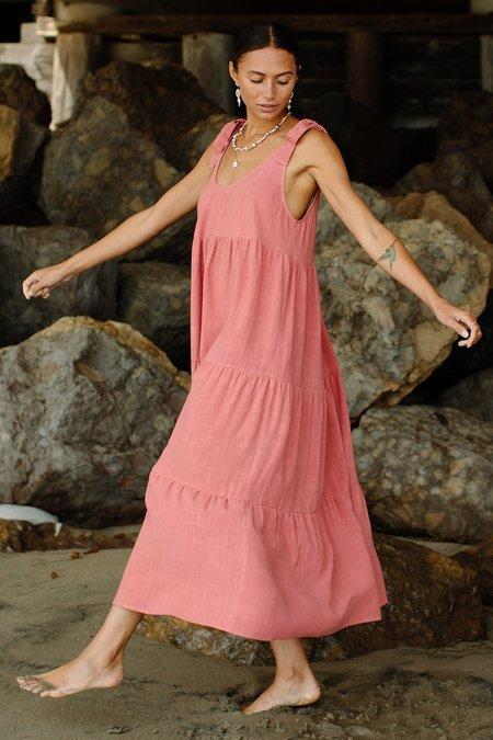 Rachel Pally Linen Adelaide Dress - Camellia