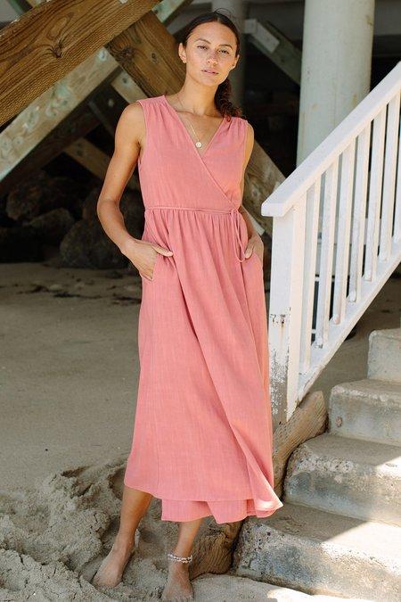 Rachel Pally Linen Paige Dress - Camellia
