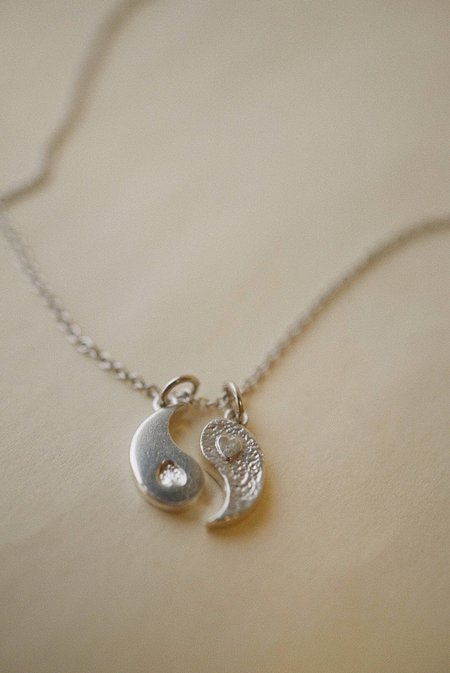 Foe and dear Yin Yang Charm Pendant