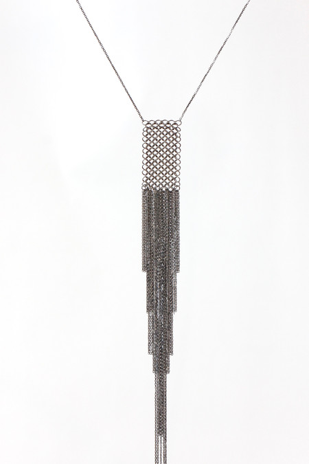 Marie Laure Chamorel Ruthenium Necklace