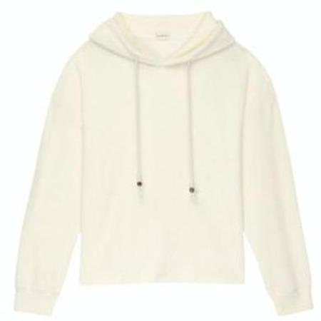 Donni. Terry Gem Hoodie sweater - Creme