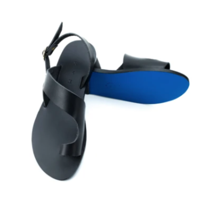 Kyma Tilos Sandals - Black