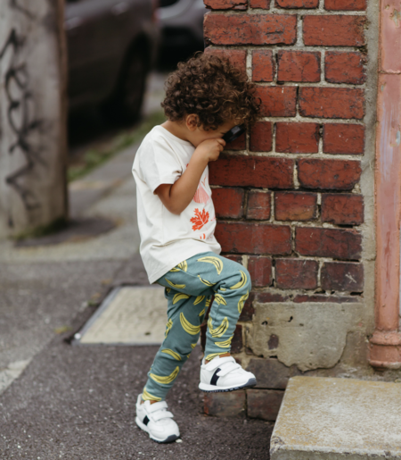 KIDS Olive and the Captain Going Bananas Slim Fit Harem Pants -
