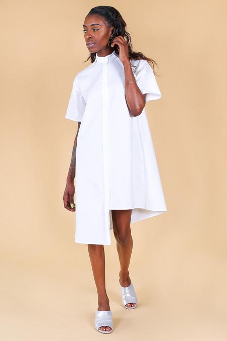 Elise Ballegeer Dive Dress in White
