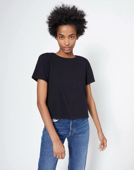 RE/DONE 1950's Boxy Tee - Black
