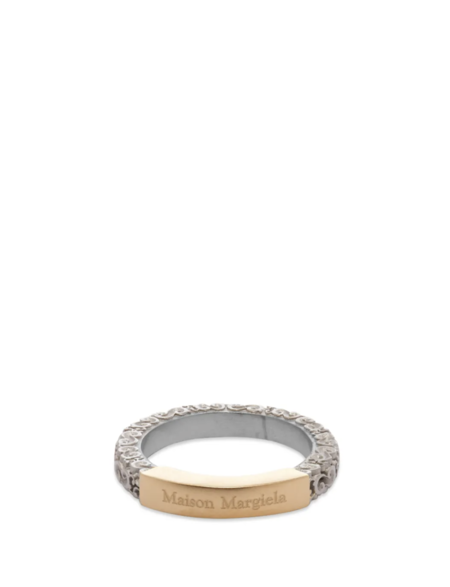 Maison Margiela Logo Ring - Silver/Gold