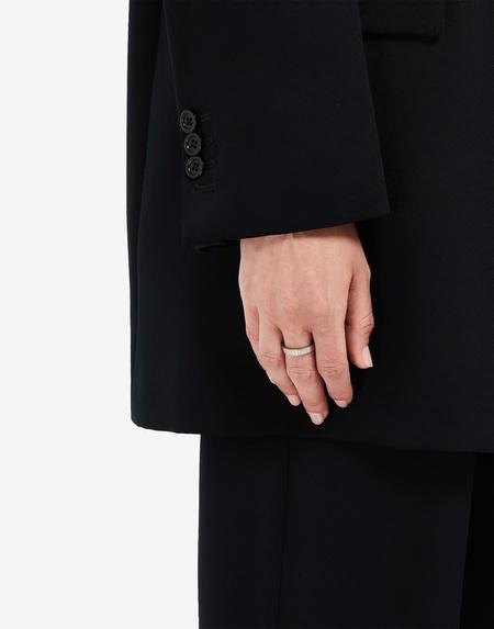 Maison Margiela Number Logo Ring - Silver