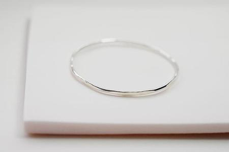 Devi Arts Hex Stacking Bracelet - Silver
