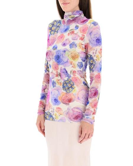 GANNI Floral Pattern Top - Multicolor