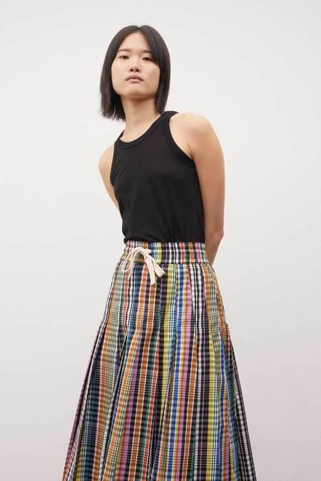 Kowtow Pace Skirt - Checks