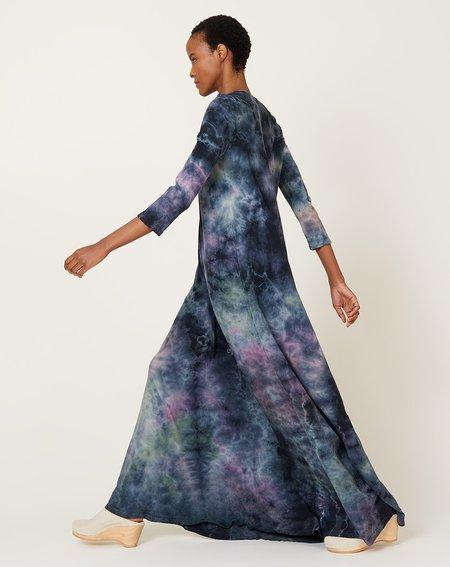 Raquel Allegra Drama Maxi Dress - Nebula Tie Dye