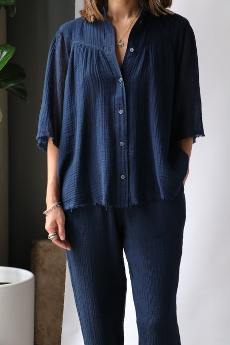 Raquel Allegra Serenity Shirt - Navy
