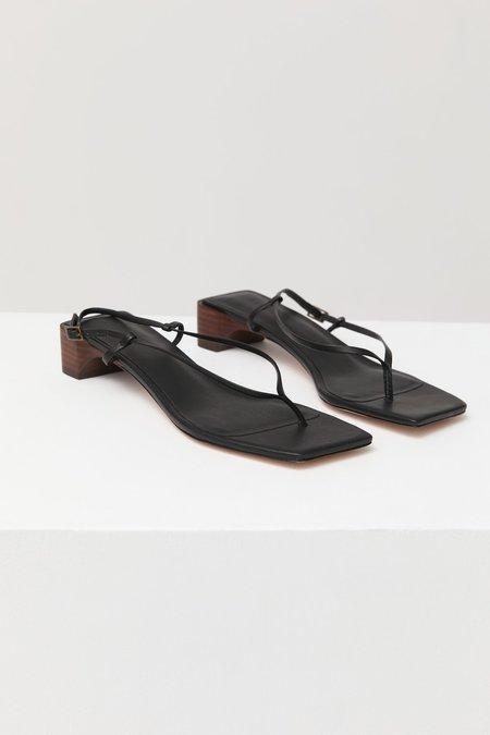 St. Agni Kyu Heels - Black