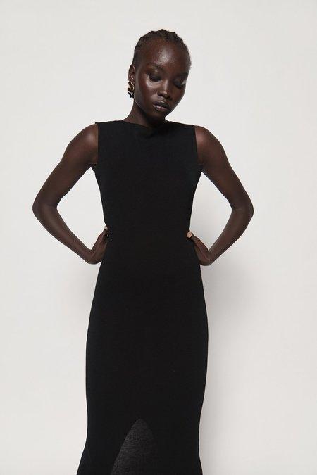 St. Agni Vas Knit Dress - Black