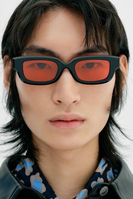 Projekt Produkt Acetate AUCC2-C1 Sunglasses - black/Red