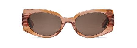 Carla Colour Obi Sunglasses - Coral Smoke