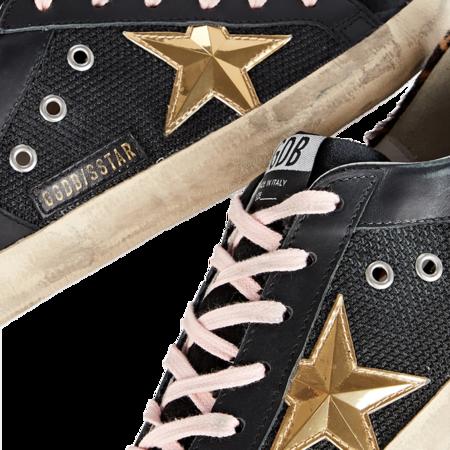 Golden Goose Super-Star Leather Net Upper Women GWF00104.F001875.90272 sneakers - Black/Gold/Beige