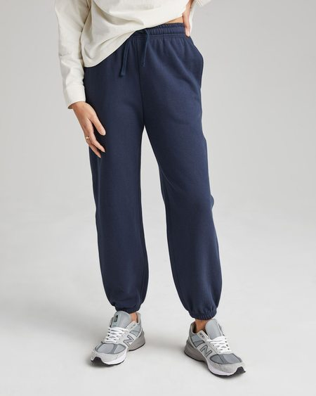Richer Poorer Nights Recycled Fleece Classic Sweatpants - Blue