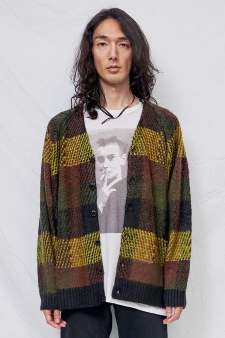 YMC Wool Blend Left Back Knit