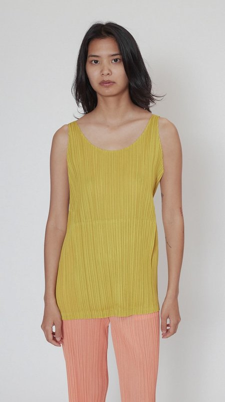Issey Miyake Pleats Please Monthly Colors Top - Ochre