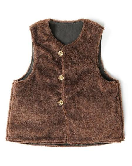 Engineered Garments Over Vest - Dk. Olive Coated Twill