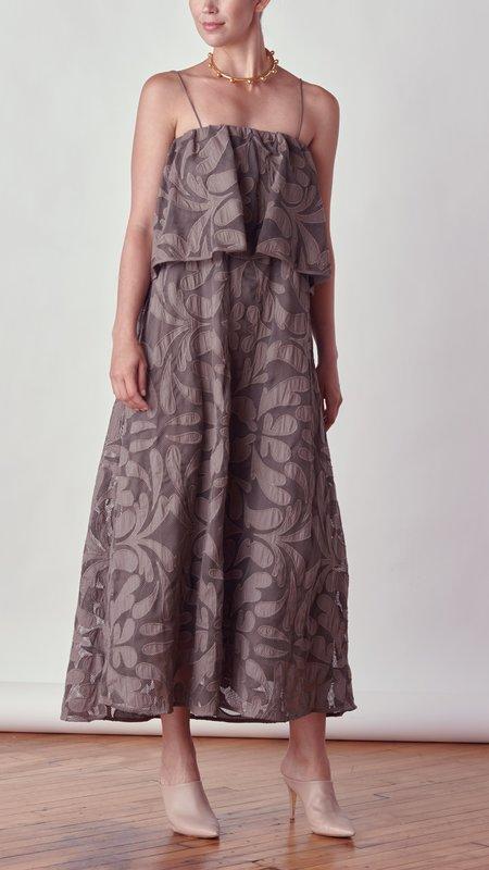By Malene Birger Cipella Maxi Dress - dark mink