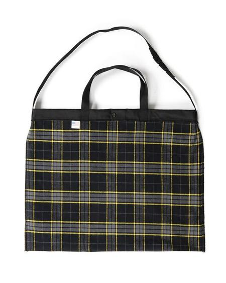Engineered Garments Coated Twill Carry All Tote - Black