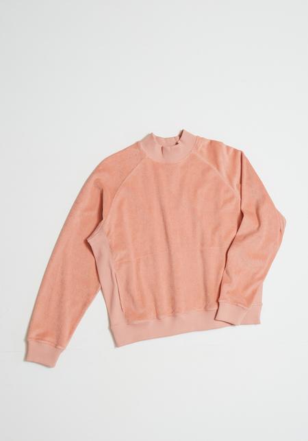 YMC Touche Sweat - Pink Terry