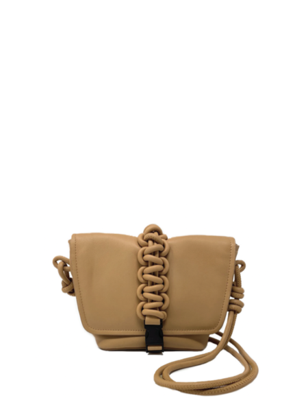 KARA Mini Switch Bag - Honey Brown