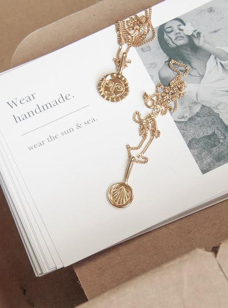 Rauw Jewelry Sun Goddess Necklace