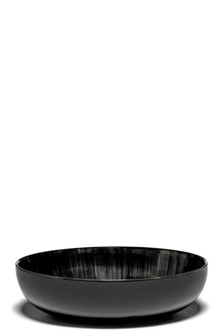 Ann Demeulemeester DÉ Var C High Plate - Off-White Black