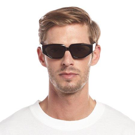 Unisex Le Specs major Sunglasses - black