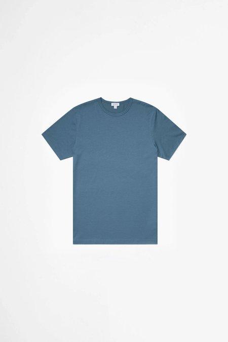 Sunspel Classic Cotton T-shirt - Airforce