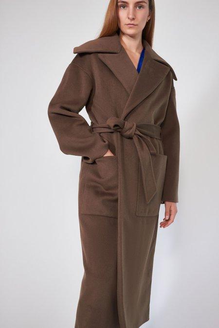 Nanushka Soa Coat - Clay