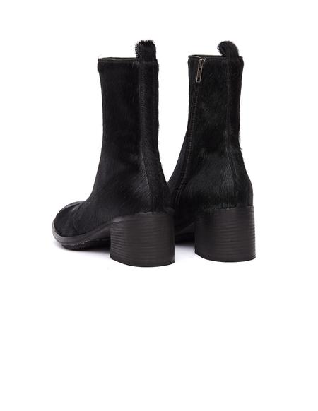 Ann Demeulemeester Pony Hair Boots - Black