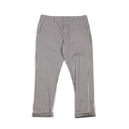 Hope News Trousers - Grey Stripe