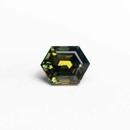 Misfit Gems Hexagon Step Cut Sapphire - Green