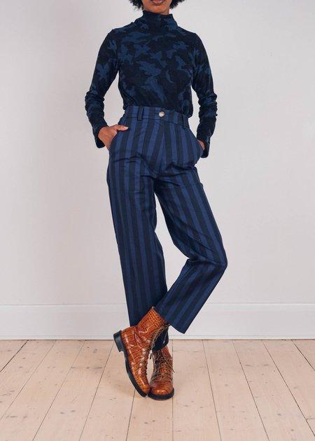FME Apparel The Stripe Beattie Jean - blue
