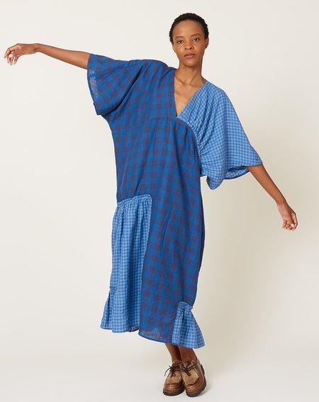 Henrik Vibskov Jam Dress - Blue Checks