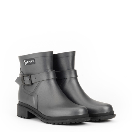 Aigle Macadames Low Women's Boots - Metallic