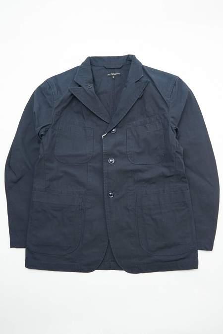 Engineered Garments Bedford Jacket - Dk.Navy Heavyweight Cotton Ripstop