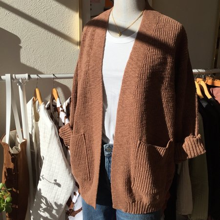 It Is Well L.A. Open Cardigan - Natural