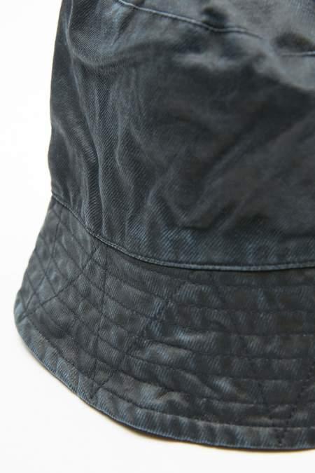 Engineered Garments Coated Twill Bucket Hat - Dark Navy