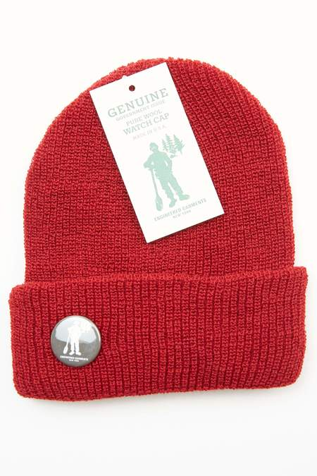 Engineered Garments Wool Watch Cap - Red