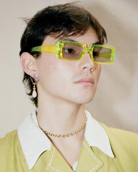 Jean Riley Oasis Droplet earrings - 18k Gold vermeil